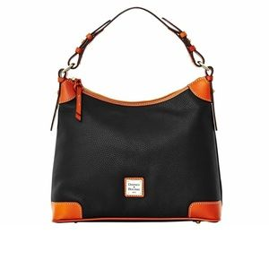 Dooney & Bourke - Black Pebble Grain Hobo Bag